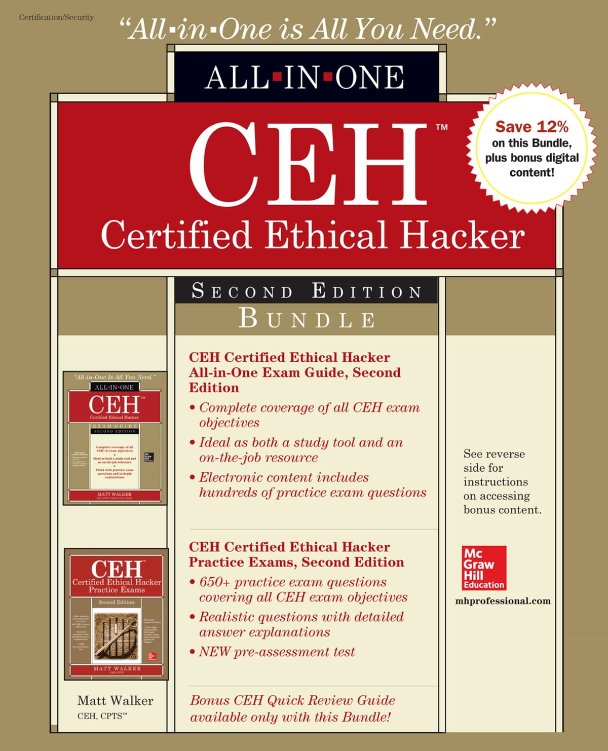 Ceh Certified Ethical Hacker Bundle Second Edition Ebook By Matt