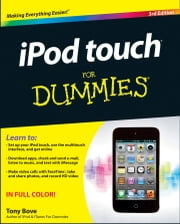 iPod touch For Dummies ebook by Tony Bove
