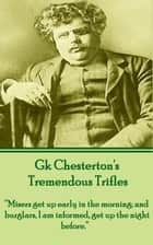 Tremendous Trifles ebook by GK Chesterton