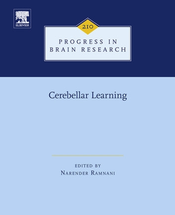 Cerebellar Learning ebook by Narender Ramnani