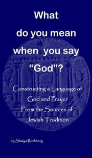 "What Do You Mean When You Say ""God""? ebook by Shaiya Rothberg"