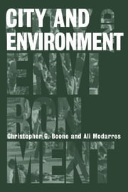 City and Environment ebook by Christopher Boone,Ali Modarres