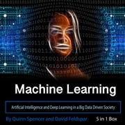 Machine Learning - Artificial Intelligence and Deep Learning in a Big Data Driven Society audiobook by Quinn Spencer, David Feldspar