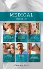 Medical Box Set Jan 2021/Second Chance in Barcelona/His Blind Date Bride/The GP's Secret Baby Wish/Risking Her Heart on the Trauma Doc/One ebook by Sue Mackay, Scarlet Wilson, Louisa Heaton,...