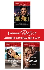 Harlequin Desire August 2019 - Box Set 1 of 2 ebook by Katy Evans, Joss Wood, Yahrah St. John