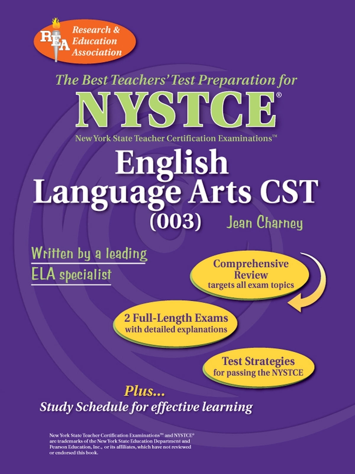 Nystce Cst English 003 Ebook By Jean Charney Phd