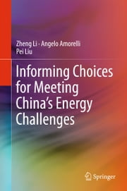 Informing Choices for Meeting China's Energy Challenges ebook by Zheng Li, Angelo Amorelli, Pei Liu