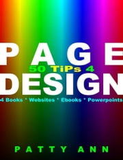 50 Tips 4 Page Design ebook by Patty Ann