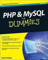 PHP and MySQL For Dummies ebook by Janet Valade