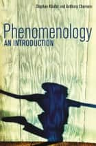 Phenomenology - An Introduction ebook by Stephan Kaufer, Anthony Chemero