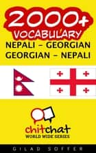 2000+ Vocabulary Nepali - Georgian ebook by Gilad Soffer
