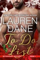 To Do List ebook by Lauren Dane