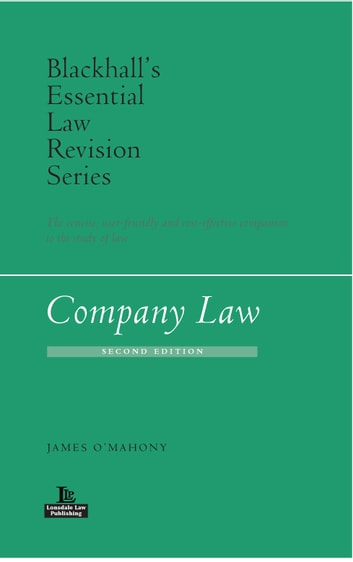 Company Law (2nd edition, 2017) ebook by James O'Mahony