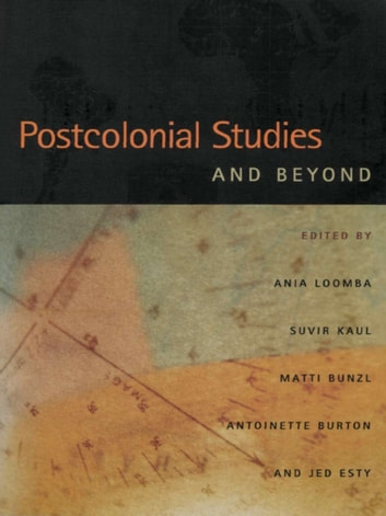 Postcolonial Studies and Beyond ebook by
