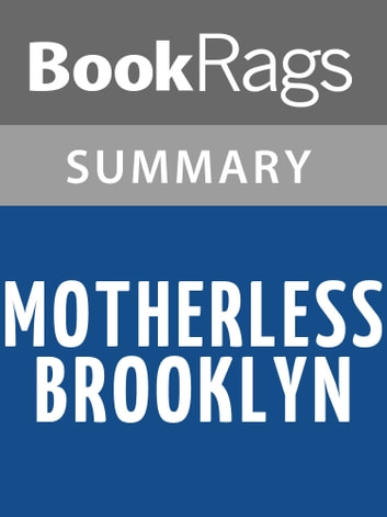 Motherless Brooklyn by Jonathan Lethem Summary & Study Guide ebook by BookRags