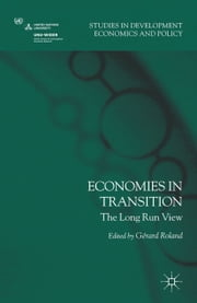 Economies in Transition - The Long-Run View ebook by G. Roland
