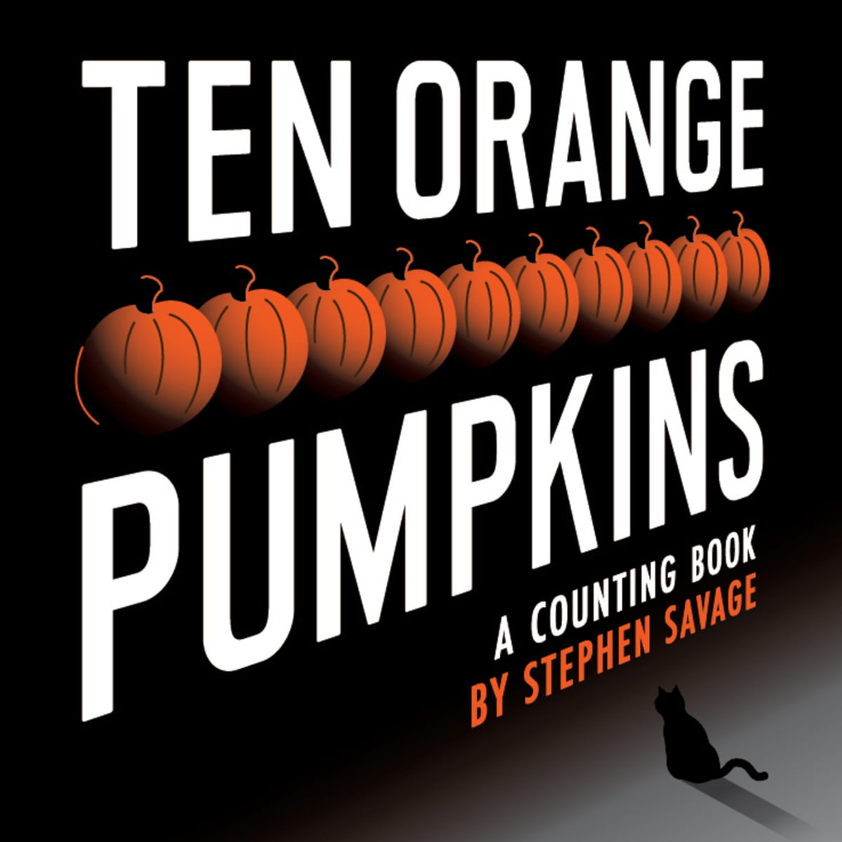 Ten Orange Pumpkins by Stephen Savage