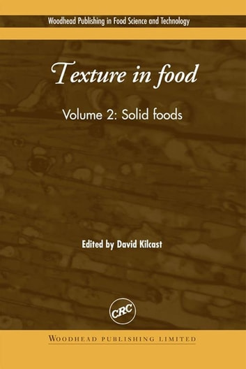 Texture in Food - Solid Foods ebook by