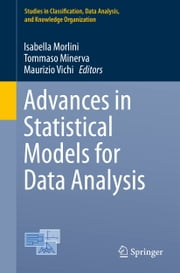 Advances in Statistical Models for Data Analysis ebook by Isabella Morlini,Tommaso Minerva,Maurizio Vichi
