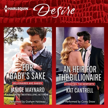 For Baby's Sake & An Heir for the Billionaire audiobook by Janice Maynard,Kat Cantrell