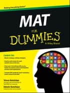 MAT For Dummies ebook by Vince Kotchian,Edwin Kotchian