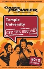 Temple University 2012 ebook by Jamira Burley
