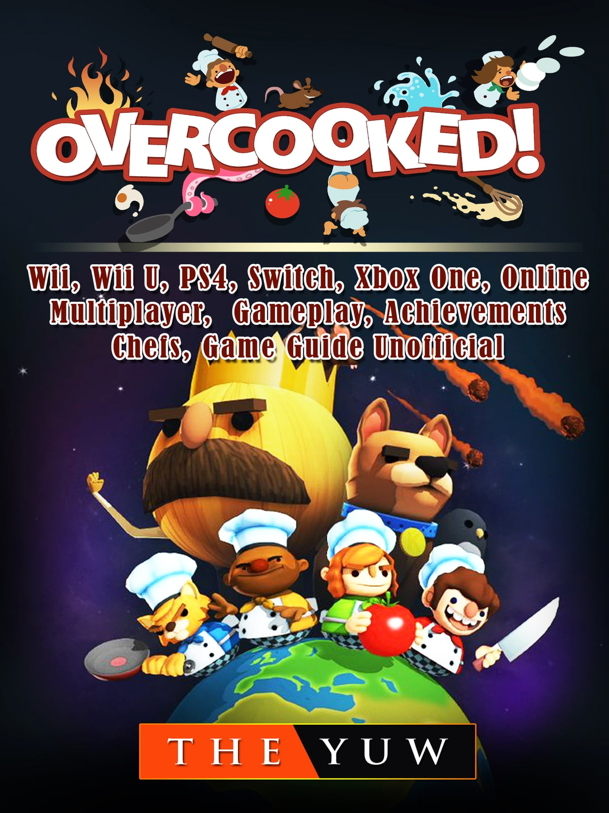 Overcooked Wii Wii U Ps4 Switch Xbox One Online Multiplayer