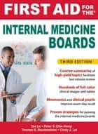 First Aid for the Internal Medicine Boards, 3rd Edition - courseload ebook for First Aid for the Internal Medicine Boards 3/E ebook by Cindy Lai, Tao Le, Tom Baudendistel,...