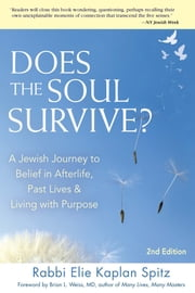 Does the Soul Survive? 2nd Edition - A Jewish Journey to Belief in Afterlife, Past Lives & Living with Purpose ebook by Rabbi Elie Kaplan Spitz,Brian L.Weiss