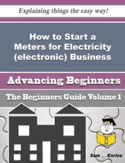 How to Start a Meters for Electricity (electronic) Business (Beginners Guide) ebook by Pierre Halcomb,Sam Enrico