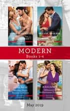 Modern Box Set 1-4/Claimed for the Sheikh's Shock Son/Penniless Virgin to Sicilian's Bride/Wedding Night Reunion in Greece/Billionaire's Medit ebook by Carol Marinelli, Melanie Milburne, Julia James,...