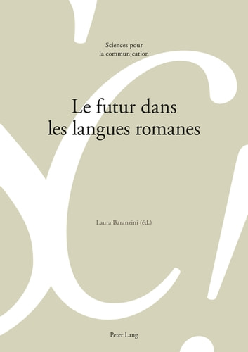 Le futur dans les langues romanes ebook by