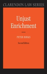 Unjust Enrichment ebook by Peter Birks