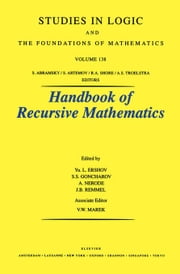 Recursive Model Theory ebook by Ershov, Y.L.