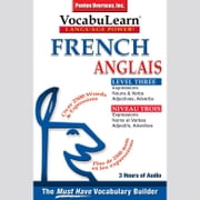 Vocabulearn: French / English Level 3 - Bilingual Vocabulary Audio Series 有聲書 by Penton Overseas