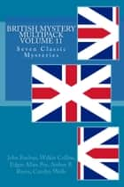 British Mystery Multipack Volume 11 ebook by
