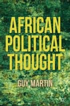 African Political Thought ebook by G. Martin