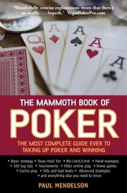 The Mammoth Book of Poker ebook by Paul Mendelson