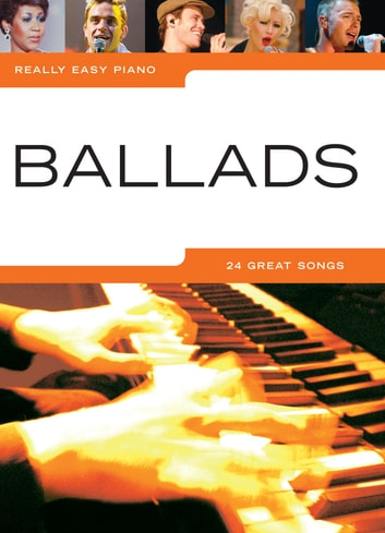 Really Easy Piano: Ballads ebook by Wise Publications