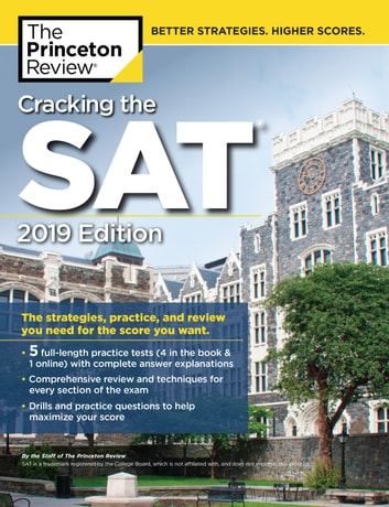 Cracking the sat with 5 practice tests 2019 edition ebook by cracking the sat with 5 practice tests 2019 edition the strategies practice fandeluxe Gallery