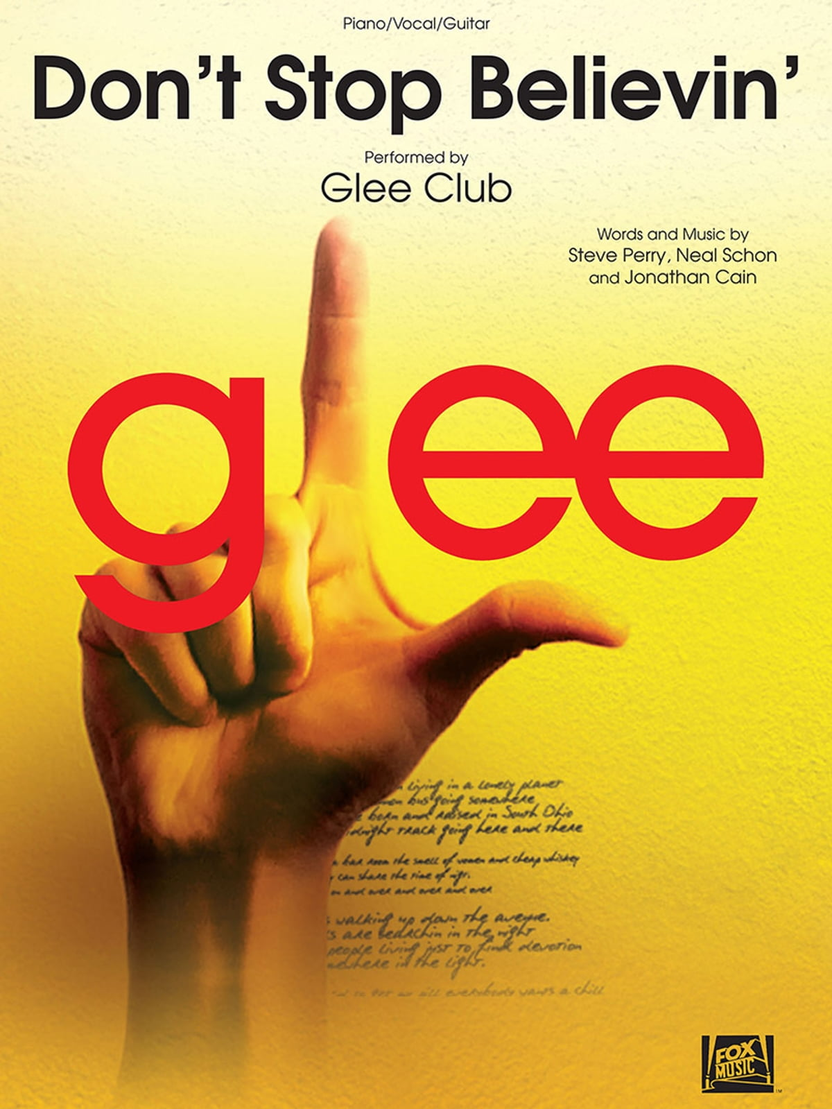 Dont Stop Believin Sheet Music Ebook By Glee Club 9781495044236