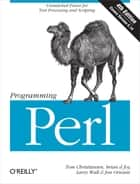 Programming Perl ebook by Tom Christiansen,brian d foy,Larry Wall,Jon Orwant