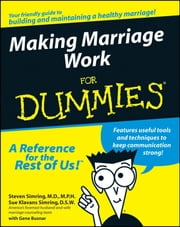 Making Marriage Work For Dummies ebook by Sue Klavans Simring,Steven Simring