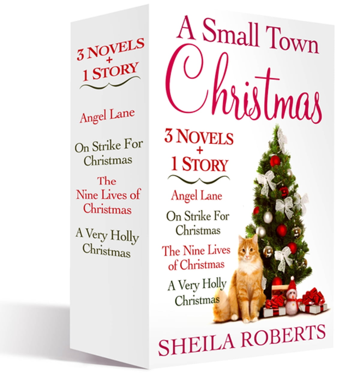 A Small Town Christmas, 3 novels and 1 Story eBook by Sheila Roberts ...