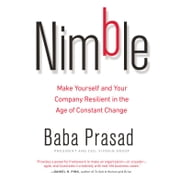 Nimble - Make Yourself and Your Company Resilient in the Age of Constant Change audiobook by Baba Prasad