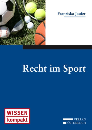Recht im Sport ebook by Franziska Jaufer