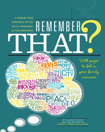 Remember That? - A Year-by-Year Chronicle of Fun Facts, Headlines, & Your Memories ebook by Allison Dolan