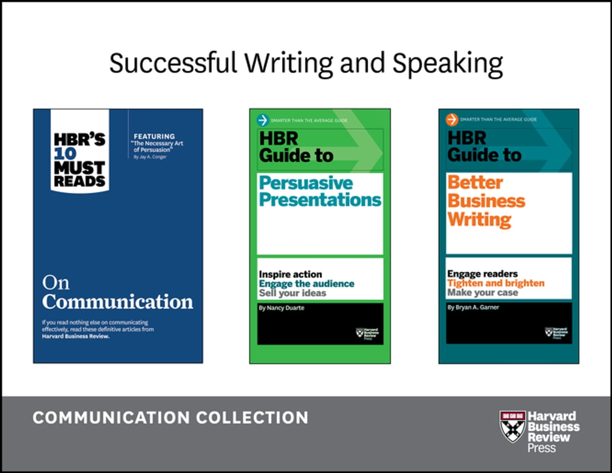 Successful Writing and Speaking: The Communication Collection (9 Books)  eBook by Harvard Business Review - 9781633691957   Rakuten Kobo