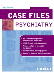 Case Files Psychiatry ebook by Toy, Eugene