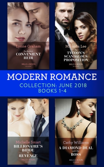 Modern romance collection june 2018 books 1 4 da rochas modern romance collection june 2018 books 1 4 da rochas convenient heir fandeluxe Gallery